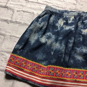 Urban Outfitters Skirts - Urban outfitters staring stars blue mini skirt 6